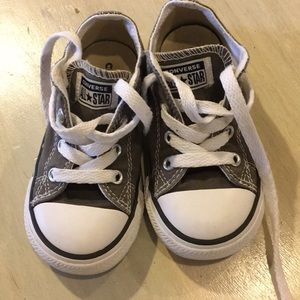 Converse - Gray- Size 7 Toddler- Great Condition